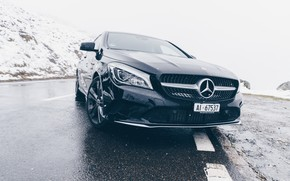 Picture Mercedes, side, Mercedes - Benz, A45