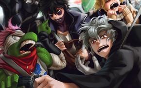 Picture villains, My Hero Academia, Boku No Hero Academy, My Hero Academy