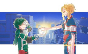 Picture Almighty, My Hero Academia, Boku No Hero Academy, Midori Isuku, My Hero Academy