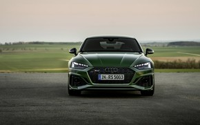Picture Audi, green, before, RS 5, 2020, RS5 Sportback