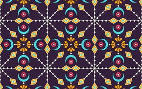 Picture background, pattern, ornament, Colorful, background, pattern