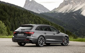 Picture Audi, universal, the five-door, 2019, A4 Avant, S4 Before