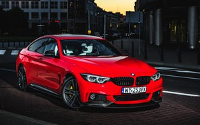 Picture BMW, Gran Coupe, 2018, 4-Series, M Performance, 430i
