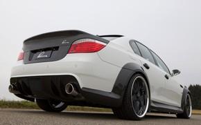Picture BMW, spoiler, sedan, G-Power, 2009, V10, E60, BMW M5, Lumma Design, M5, 730 HP, CLR …