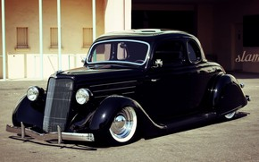 Picture Ford, Coupe, Lowrider, Custom, 1935 Year