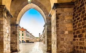 Picture street, building, Croatia, Dubrovnik