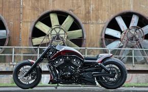 Picture Harley-Davidson, Night Rod, Thunderbike, Track Racer