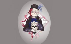 Picture skull, vampire, The Last Seraphim, Owari no Seraph