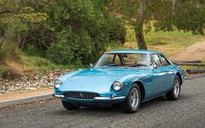 Picture auto, retro, Ferrari, 500, Superfast Pininfarina