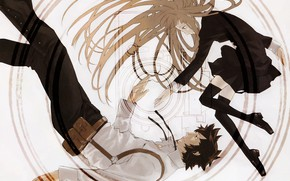 Picture holster, speed grapher, disheveled hair, black clothes, by Yuusuke Kozaki, Tatsumi Saiga, Скоростной графер, Kagura …