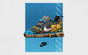 Picture Minimalism, Style, Brand, Art, Art, Style, Nike, Sneakers, Illustration, Concept Art, Minimalism, Brand, Shoes, Shoes, …