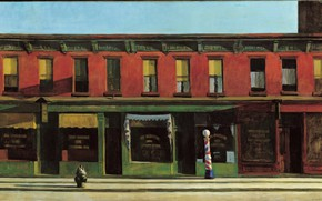 Picture 1930, Edward Hopper, Early Sunday Morning