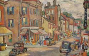 Picture Abraham Manievich, NEWBURGH, 1934 oil on canvas