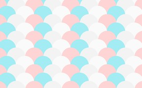 Picture background, texture, color, scallops