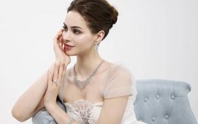 Picture girl, decoration, pose, dress, beautiful, Agne Tomkeviciute