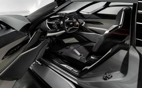 Picture grey, Audi, salon, 2018, PB18 e-tron Concept