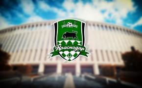 """Picture Sport, Logo, Bull, Logo, Russia, Stadium, Football club, Bulls, Krasnodar, madeinkipish, FC Krasnodar, Black-green, """"Krasnodar"""", …"""