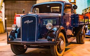 Picture truck, cabin, Opel Blitz