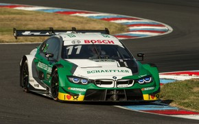 Picture asphalt, coupe, turn, BMW, track, M4 DTM