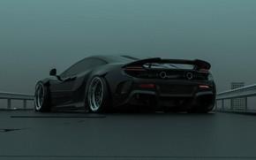 Picture McLaren, Black, Machine, Car, Render, Supercar, McLaren 675LT, Transport & Vehicles, Brad Builds, by Brad …