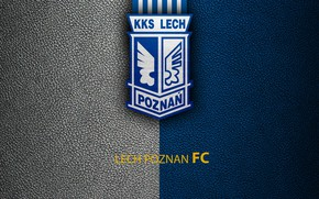 Picture wallpaper, sport, logo, football, Lech Poznan