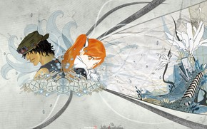 Picture art, guy, Bleach, Bleach, Inoue Orihime