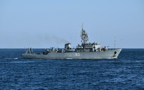 Picture sea, minesweeper, Kovrovets