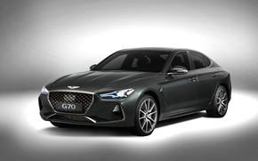 Picture sedan, Hyundai, Genesis, 2019, G70