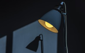 Picture light, lamp, shadow