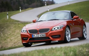 Picture road, roof, BMW, Roadster, 2013, E89, BMW Z4, Z4, sDrive35is