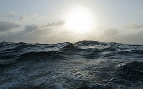 Picture Nature, Sun, Water, Ocean, Waves