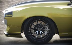 Picture Disk, Wheel, Muscle car, 1972, Classic car, Sports car, AMC, HRE Wheels, Brake disc, AMC …