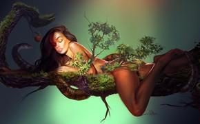 Picture girl, fantasy, art