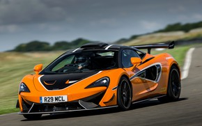 Picture coupe, McLaren, track, sports car, 2020, V8 twin-turbo, 620R, 620 HP, 3.8 L.