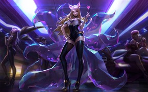Picture look, girl, League of Legends