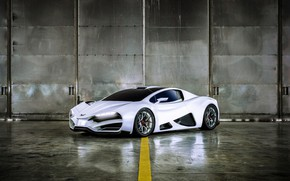 Picture supercar, 2018, hypercar, Milan, Milan automobile GMBH, Milan Red