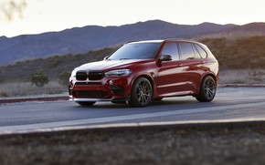 Picture BMW, RED, X5M, Sight, Adaptive LED