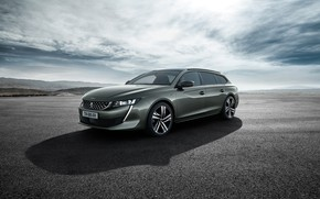 Picture Peugeot, 2018, universal, 508, SW GT