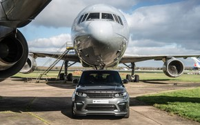 Picture Land Rover, Range Rover, Sport, Silver, Aircraft, SVR, Urban Automotive