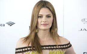 Picture look, makeup, actress, photoshoot, hair, look, Stana Katic, Stana Katic, pose, actress, makeup, hairstyle