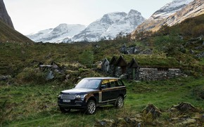 Picture mountains, Range Rover