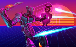Picture Robot, Neon, Graphics, Art, Robot, Neon, Electronic, Synthpop, Darkwave, Synth, Retrowave, Synth-pop, Sinti, Synthwave, Synth …