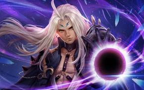 Picture magic, anime, fantasy, art, MAG, St. Cygnus, Fan Art : Mad Researcher Melcure :D