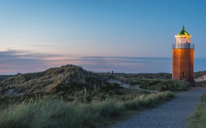 Picture lighthouse, Germany, the island of Sylt