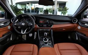 Picture Alfa Romeo, Giulia, in the cabin, 2020