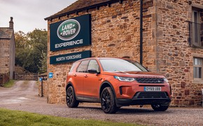 Picture auto, house, Land Rover, crossover, Discovery Sport, D180