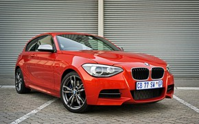 Picture BMW, red, M135i