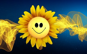 Picture the sun, mood, smiley