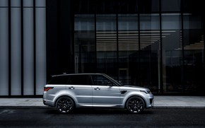 Picture the building, Land Rover, Range Rover, Range Rover Sport, 2020, HST