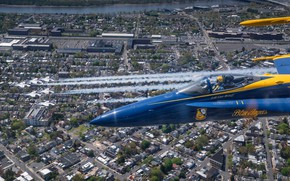 Picture Thunderbirds, Blue Angels, New Jersey, Philadelphia